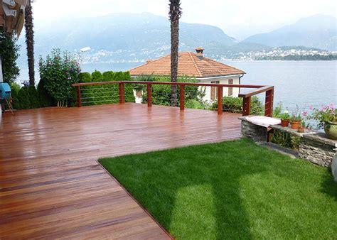 terrazze esterne gallery of pavimento in legno terrazze ticino lugano