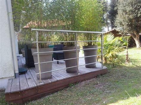 barandilla jardin barandilla de acero inoxidable para jard 237 n en capbreton