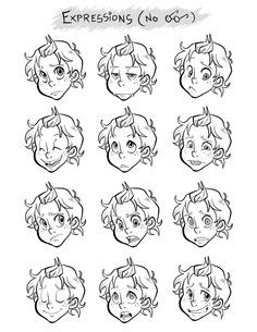 Character Design Illustration Iphone Semua H 1000 images about characters expressions on expressions character design