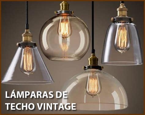 como decorar  lamparas de techo vintage  retro