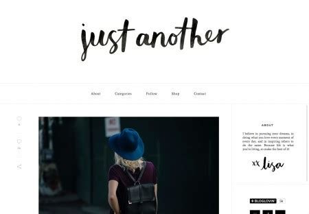 blog id designs just another wordpress site just another fashion blog fashion blog wordpress theme