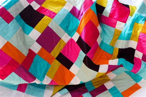 Solid Color Quilts Quilt A Modern Color Block Solid Quilt A Size Quilt