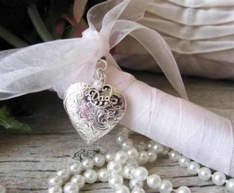 Wedding Bouquet Locket bridal bouquet locket of the locket