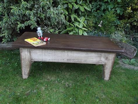 vintage mill coffee table by woods vintage home interiors