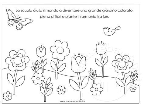 disegni da stare e colorare fiori disegni di fiori da stare disegno giardino con fiori da