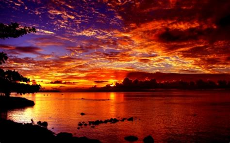 dramatic wallpaper dramatic sunset sunsets nature background wallpapers