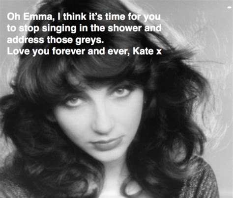 How To Stop Hair From Going The Shower Drain by Hair Advice From Heroes Kate Bush Wants Me To Stop