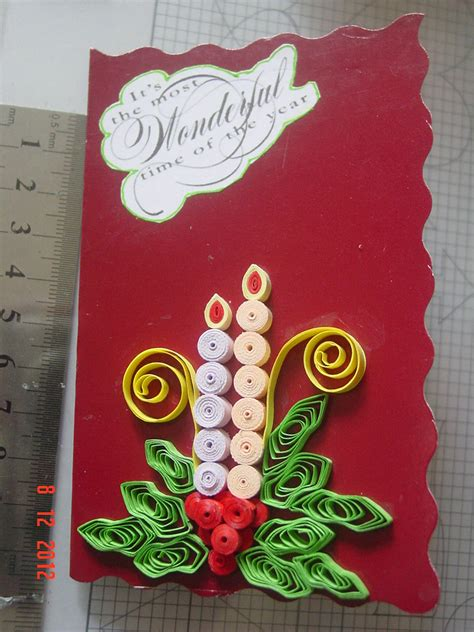 paper craft cards faith s quilling cards
