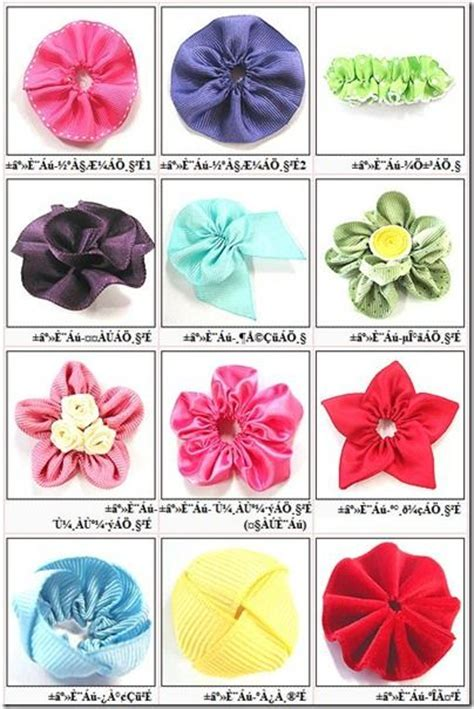 website ribbon tutorial lots of flowers site in korean but plenty of pictures to