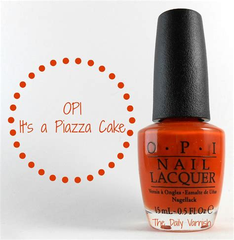 Opi It S A Piazza Cake Nail opi it s a piazza cake the daily varnish