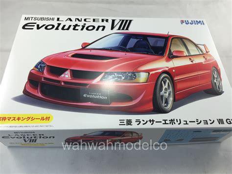 Fujimi 124 Lancer Evolution V Gsr fujimi 039244 124 id 180 mitsubishi lancer evolution viii gsr