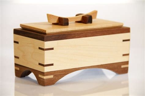 custom made box no 25 small wooden box with lid by the box maker s apprentice custommade com