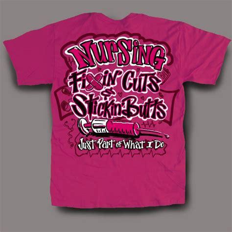 Kaos Thats All Folk P407 quot fixin cuts quot nursing t shirt just bought it nursing