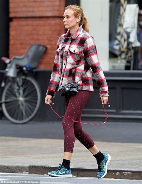 Fashion News Weekly Up Bag Bliss 13 by Diane Kruger Goes Make Up Free As She Heads To The In