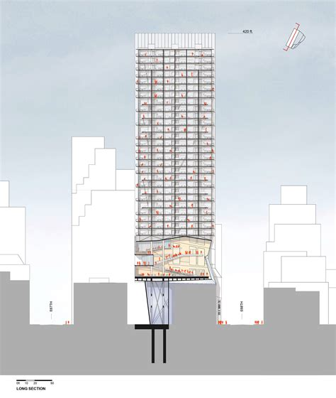 Gallery Of Proposal For New York Skyscraper Cantilevers Modern Architecture New York