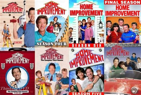 home improvement series seasons 1 2 3 4 5 6 7 8 new dvd ebay