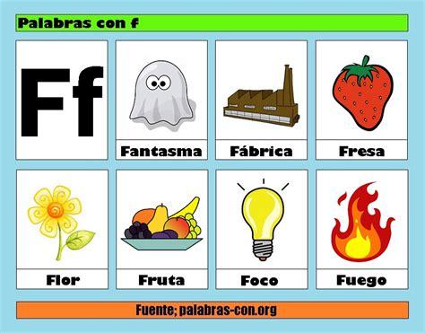 imagenes de palabras en ingles que empiecen con a palabras con la letra f f ejemplos de palabras con f