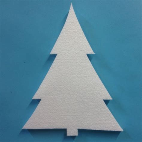 polystyrene trees poly craft supplies