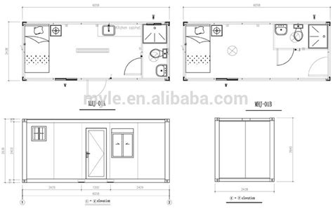 10 Foot By 25 Foot Floor Plan by 20 Foot Container Home Floor Plans 20ft Container Home