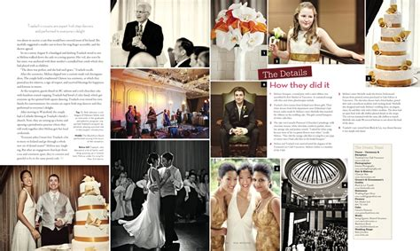 Wedding Magazine Album by Jonetsu In Real Weddings Magazine Traelach