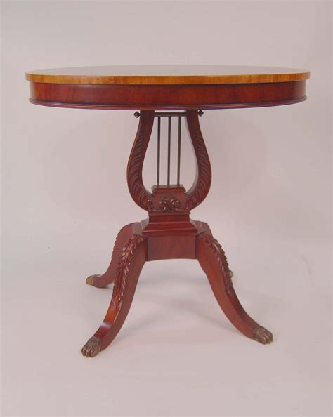 32 inch end table mahogany 32 inch diameter duncan phyfe end table