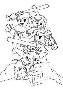 lego star wars characters coloring page batch coloring