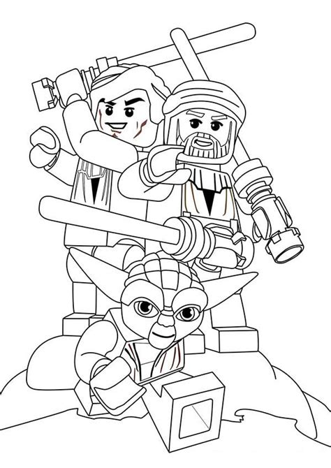 lego coloring pages star wars to print lego star wars characters coloring page batch coloring