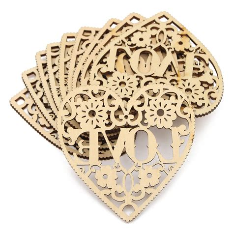 decorative crafts for home modern diy 10pcs laser cut decorative heart unfinished