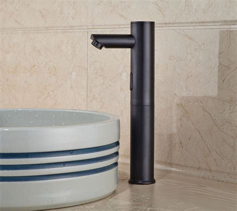 motion sensor faucet bathroom wadsworth touchless oil rubbed bronze bathroom sink faucet with motion sensor funitic