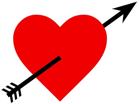 image with hearts and arrow png image pngpix