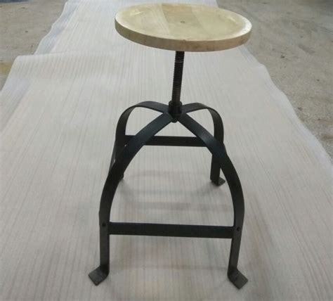 hocker drehhocker metall stuhl drehbar hoehenverstellbar