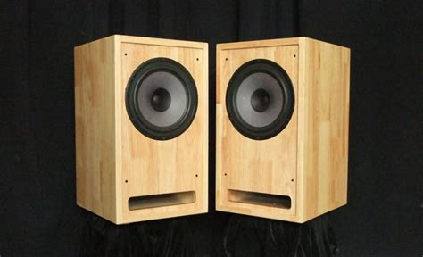 seas h1597 seas 8 inch range speakers finished