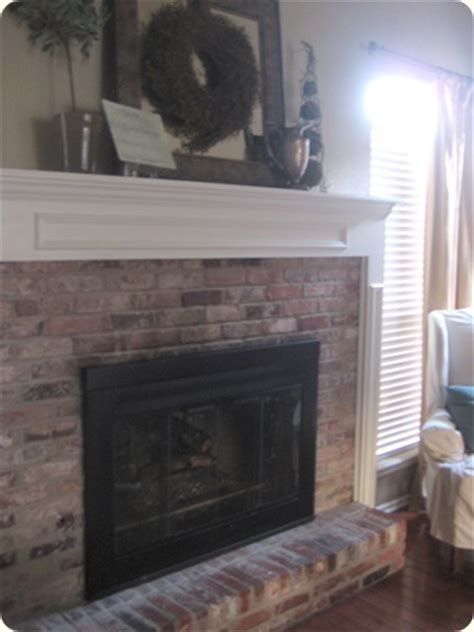 de brassifying a fireplace surround our suburban cottage