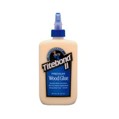 8 oz titebond ii premium wood glue 5003 the home depot