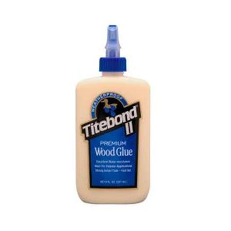 8 oz titebond ii premium wood glue 5003 the home depot