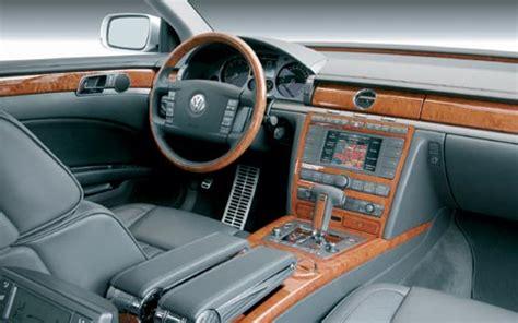 volkswagen phaeton interior 2004 volkswagen phaeton w12 road test first drive
