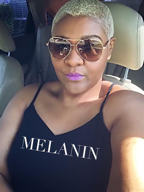 bleaching african american hair blonde thecutlife melanin beauty platinum skin care short
