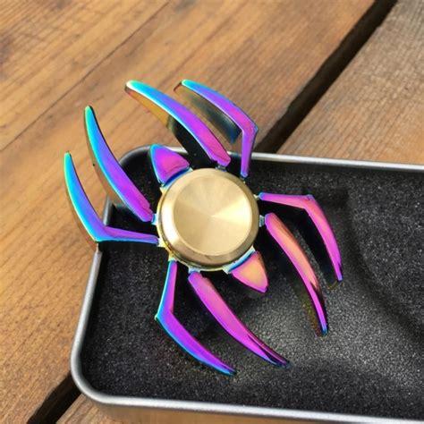 Spinner 3 Baling No Led Spinner Murah spider metal fidget spinner multi color