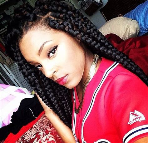 Large Poetic Justice Braids | 42 best big jumbo braids styles with images beautified