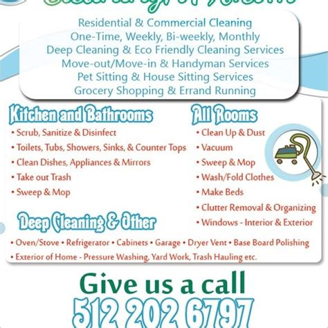 free cleaning business flyer templates house cleaning flyer template psd format fr on