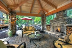 outdoor living spaces plans stone masonry on pinterest gazebo fireplaces and stones