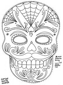 sugar skulls coloring pages yucca flats n m october 2012