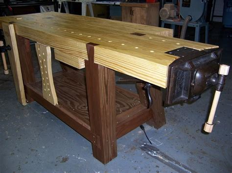 making a woodworking bench making a roubo workbench part 5 finewoodworking