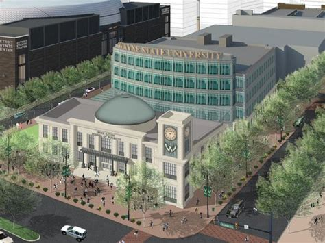 Wayne State College Mba Cost by Construction To Start On Wsu S Ilitch Business School