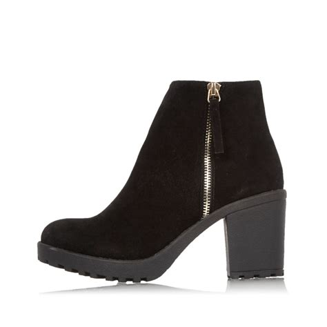 Block Heel Ankle Boots black block heel ankle boots boots shoes boots