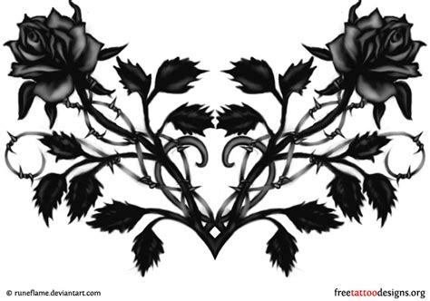 black rose tattoo designs free tattoos