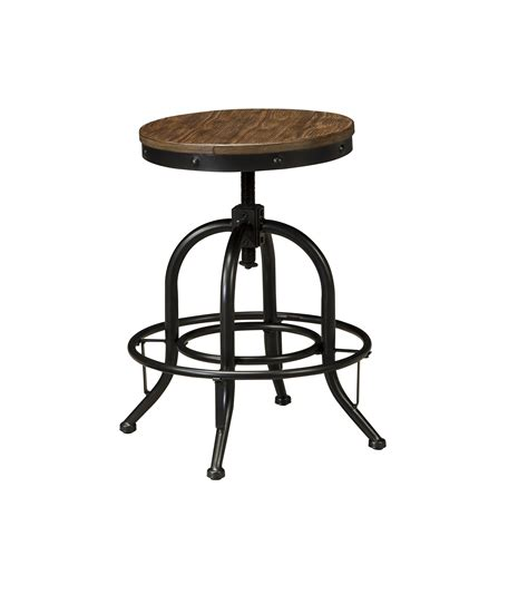 Light Stools by Pinnadel Light Brown D542 Swivel Stool