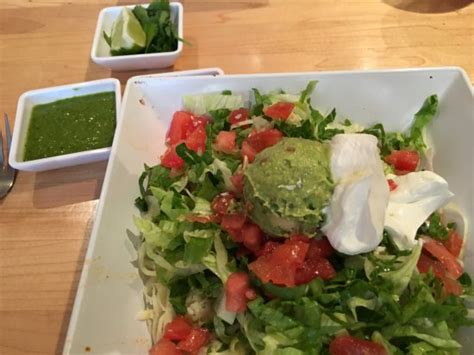 salad picture of zuzu handmade mexican food dallas
