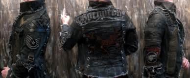 hand crafted custom jacket rock metal punk stage rockstar