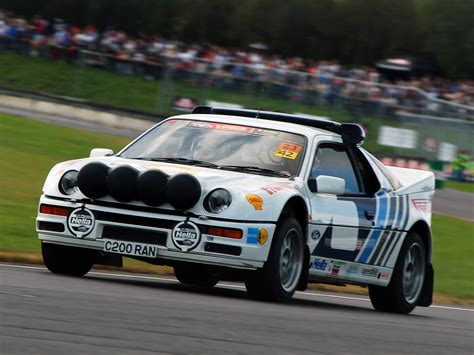 ford group group b rally cars are old and awesome top dead